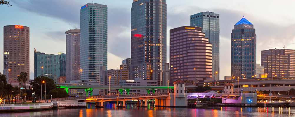 Wells Fargo Center Tampa - Waterfront & Skyline Views